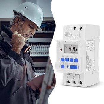 Temporizador del relé de tiempo programable Digital, Control semanal electrónico, AC 220V, DC 12V, 24V, 5V, 16A, montaje en Riel Din, THC15A 2
