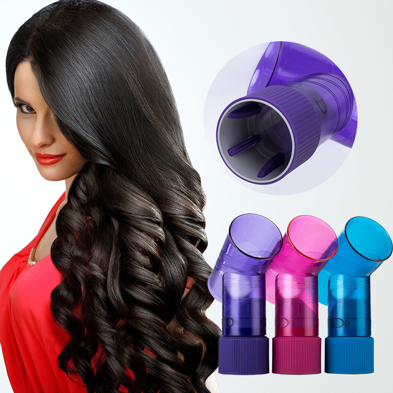 DIY Hair Diffuser Salon Magic Hair Roller Drying Cap Blow Dryer Wind Curl Hair Dryer Cover Roller Curler Diffuser Styling Tools