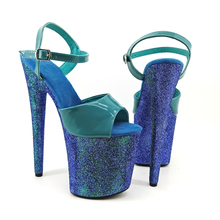 Leecabe 8Inch/20cm Women's Platform Sandals  party High Heels Shoes Pole Dance Shoes sgesvier european style ankle strap women summer shoes wedges high heels sandals platform causel shoes plus size 34 43 vv431