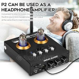 Image 4 - Nobsound Mini Bluetooth 5.0 Vacuum Tube Preamp HiFi Stereo Receiver USB Player Audio Headphone Amplifier