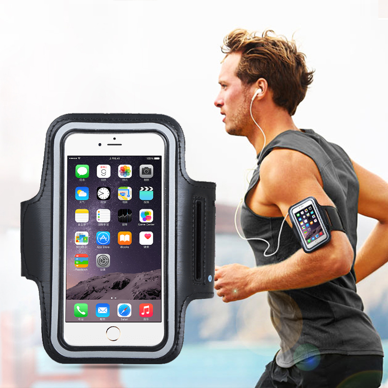 Outdoor Sports Mobile Phone Sets Arm Bag Green Jacket Gym Running Bag Mobile Phone Universal Arm Sleeve Sports Running Bag