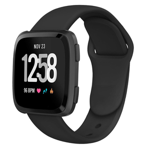 Image 4 - Band For Fitbit Versa Strap Reverse Watch Buckle Replacement  Bracelet for Fitbit Versa Lite strap Silicone Smartwatch Wrist