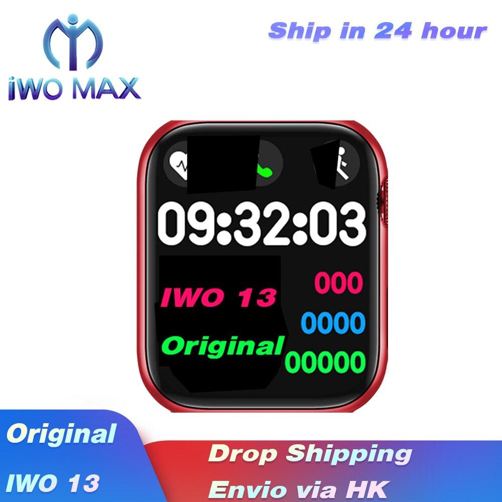2020 original iwo 13 relógio inteligente série 6 para suporte bluetooth chamada freqüência cardíaca ecg pedômetro à prova dwaterproof água iwo13 esporte relógio inteligente|Relógios inteligentes| - AliExpress