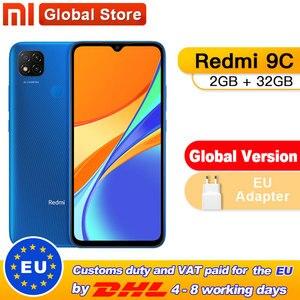 Global Version Xiaomi Redmi 9C 2GB 32GB Smartphone Helio G35 Octa Core 6.53