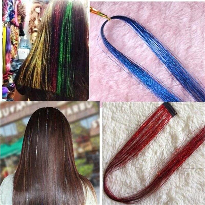 Boho Colored Fake Hair Ring Headband Hair Extension Ponytail Holder for Kids