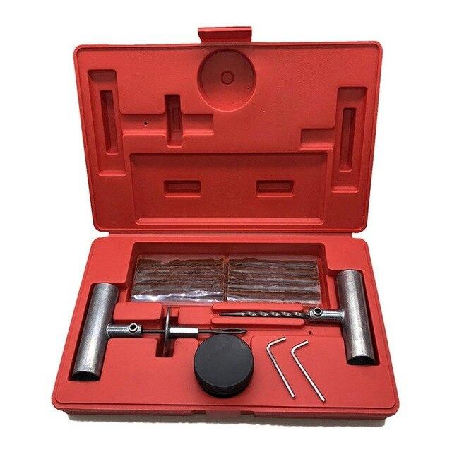 Kit de reparação de pneus van do carro da motocicleta ferramentas de reparo de pneus de emergência resistente sem câmara de ar pneu puncture repair kit