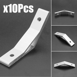 High Quality 10pcs 135 Degree Aluminium Alloy Connector Bracket For 2020 Aluminum Profie Kits