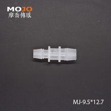 MJ-S9.5x12.7(100 шт./лот) PP Reducing Straght Тип колючей воды фитинги разъемы