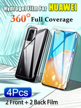 Front and back edges all inclusive Soft Hydrogel Film For Huawei Mate 40 30 20 Pro 360° Screen Protector P40 P30 40RS 40Pro Plus