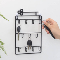 Creative Door Decorative Hooks for Keys Umbrella Small Sundries Storage Holder Household Hanging Wall Key Hook Home Hanger Rack|Hooks & Rails| |  -