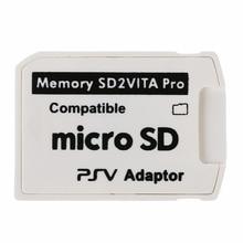 Для ПС Вита Henkaku 3.60 1шт микро SD карта памяти крышка У5.0 SD2VITA PSVSD про адаптер аксессуары