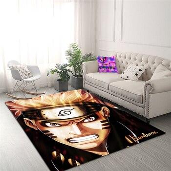Anime Naruto Carpet 3D Carpet Non-slip Carpet Dining Room Living Room Soft Children's Bedroom Mat Carpet Home Decoration