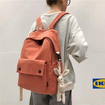 New Large capacity waterproof nylon women backpack female School bags for teenage girls leisure travel bag pack Mochila yizhong nylon multifunction mini backpack for women small travel backpack purse female school bags for teenage girls mochila