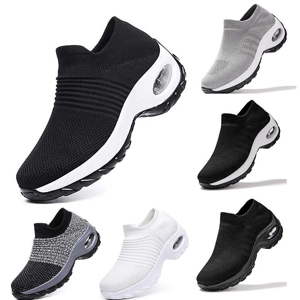 2020 Nuove Donne di Maglia Degli Uomini di Outdoor Runningg Scarpe Coppie Morbido E Traspirante Atletica Jogging Scarpa Da Tennis