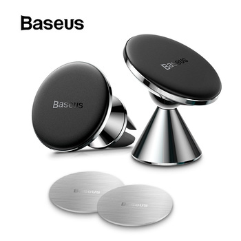 Baseus Magnetic Car Phone Holder for iPhone 11 Auto Air Vent Mount Mobile Phone Holder Stand for Samsung Note Car Bracket