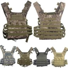 Hunting CS Field JPC Vest Tactical Outdoor Training Airsoft Protective Vest for Adults Adjustable Mud multifunctional clothing stab stab tactical vest cs field outdoor photography vest fishing