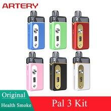 Artery PAL 3-Kit Original de 3ml, Cartucho Pod de 1000mAh, batería compatible con HP 0.7ohm, 1.2ohm, bobina de malla, vaporizador de cigarrillo electrónico
