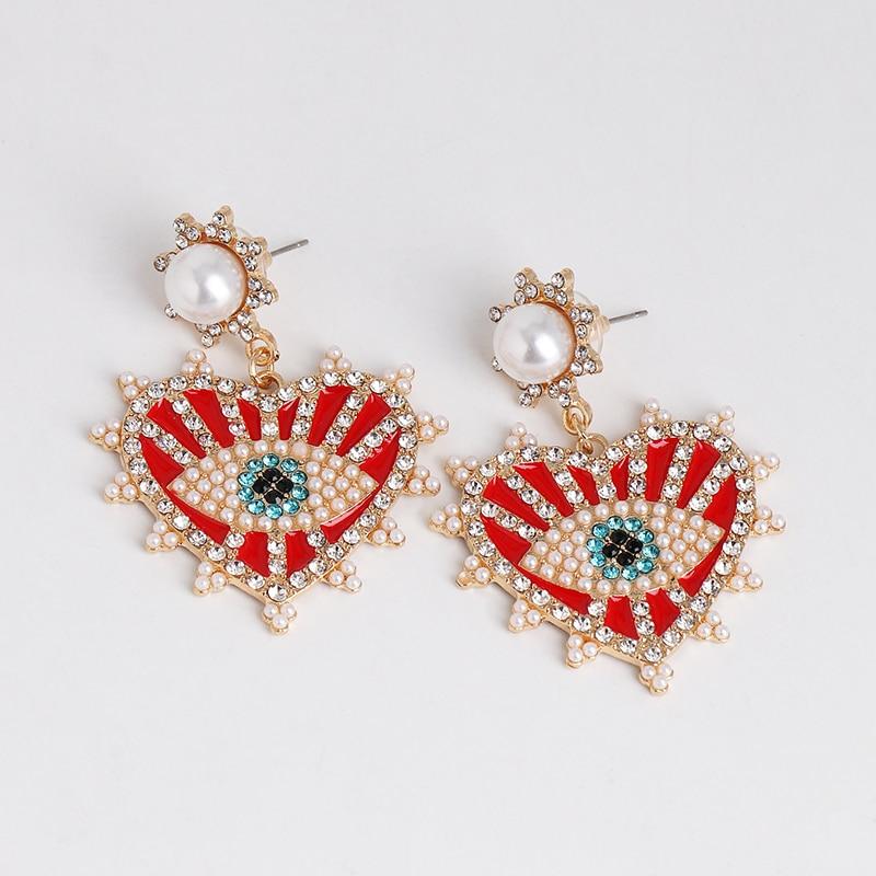 Best Evil Eye Earrings For Women 3