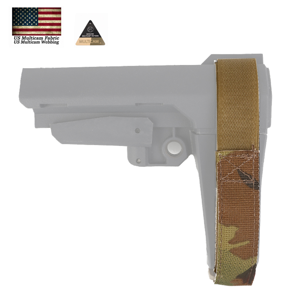 Tactical Adjustable Strape Splitfix USA Original Camo Webbing For SBA Stock Hunting Airsoft Accessories