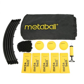 Mini Beach Volleyball Spike Ball Game Set Outdoor Team Sports Spikeball Lawn Fitness Equipment With 3 Balls