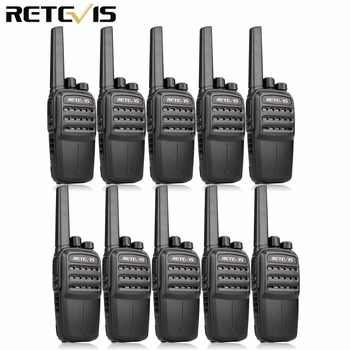 10pcs RETEVIS RT40 DMR Digital PMR Radio Walkie Talkie FRS/PMR446 446MHz 0.5W VOX USB Charging Private/Group Call Two Way Radio - DISCOUNT ITEM  14% OFF All Category