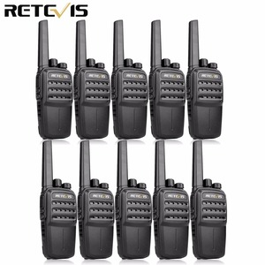 Image 1 - RETEVIS RT40 DMR Digital PMR Radio Walkie Talkie 10pcs FRS/PMR446 446MHz 0.5W VOX USB Charging Private/Group Call Two Way Radio