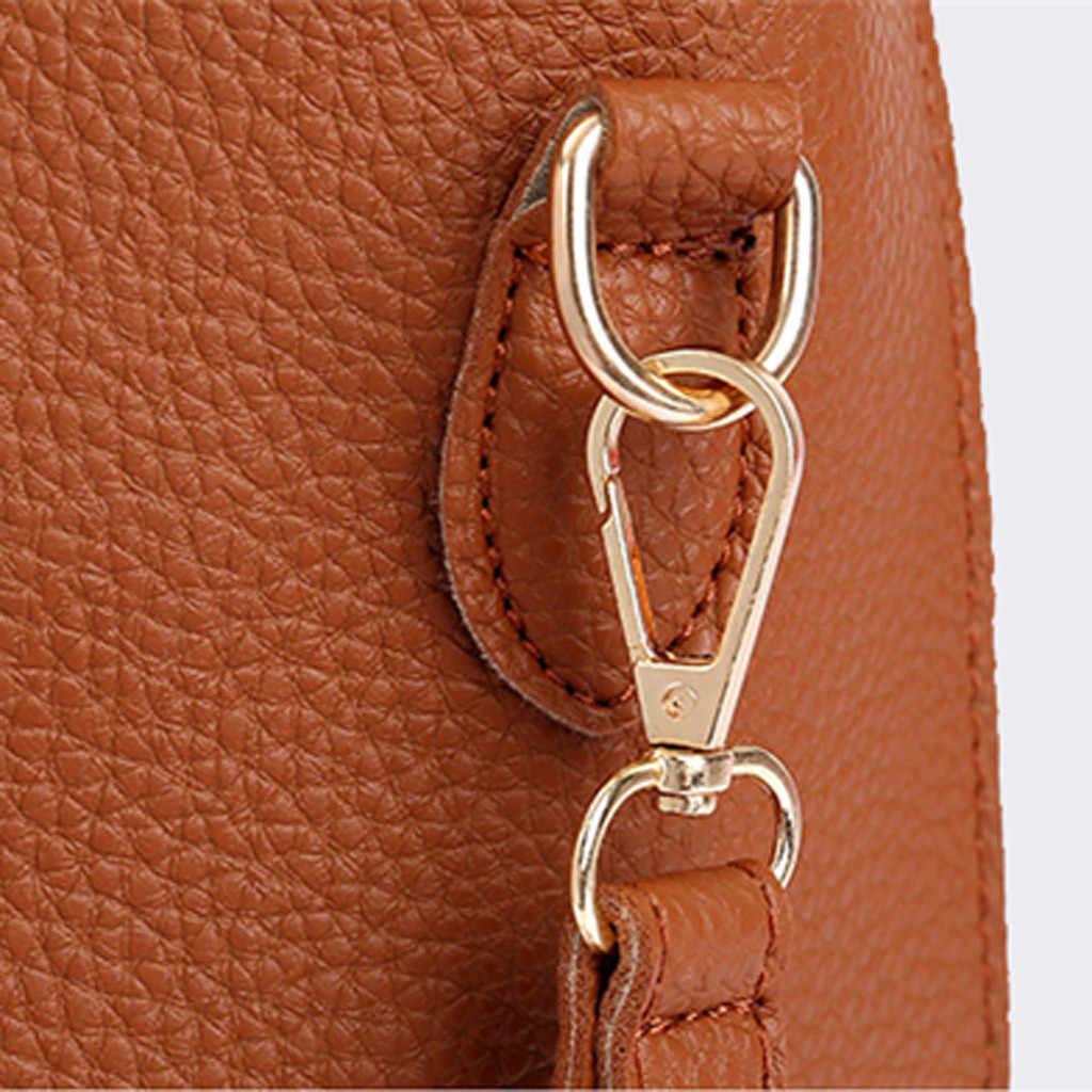 Женская сумка 2019, новая модная сумка через плечо из четырех частей, сумка-почтальон, кошелек, сумочка, Bolsa Feminina, роскошная сумка-почтальон для диких девушек