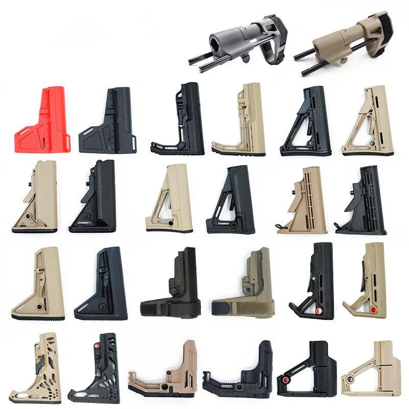 Игрушечный пистолет с пластиковым шариком, тактическое оборудование jinming8/9 MFT CTR MOD SBA3 SBA4 TB CAA, нейлоновое Стоковое украшение