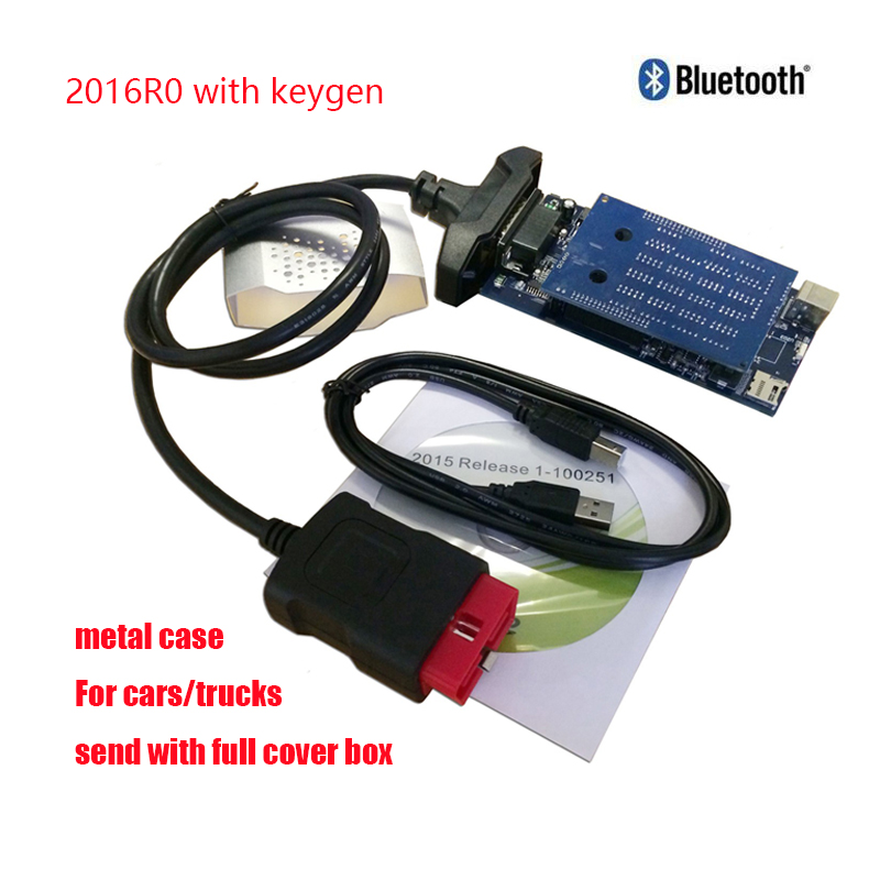 Berufsdiagnosewerkzeug pcb 8,0 2016r0/2015r3 vd ds150e cdp pro für delphis mit bluetooth neue vci obd2 code reader