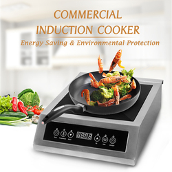 ITOP 3500W Induction Cooker High Power Smart Touch Control Energy-Saving Cooking 220V-240V Commercial Induction Cooker