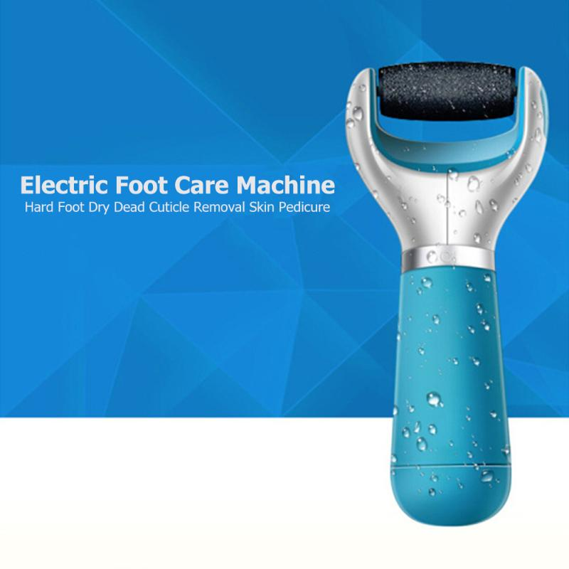 Electric Foot Grinder Heel File Grinding Exfoliator Pedicure Machine Feet Care Pro Manicure Salon Tools Removable Grinder