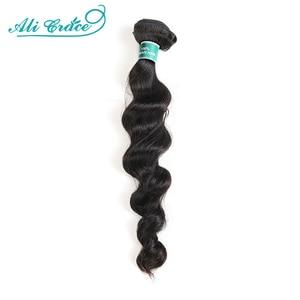 ALI GRACE Hair Brazilian Loose Wave Bundles 1 3 4 Pcs Human Hair Bundles 100% Remy Human Hair Extensions Hair Weaves Bundles(China)