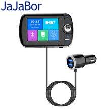 Jajabor Autoradio Ontvanger Fm zender Auto Bluetooth Muziekspeler Dab + Digitale Uitzending Aux Ontvanger Autoradio Kleur Screen