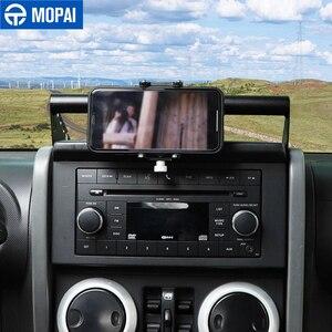 Image 5 - MOPAI GPS Stand Halter für Jeep Wrangler JK Auto Handy Unterstützung Halter Zubehör für Jeep Wrangler JK 2007 2008 2009 2010
