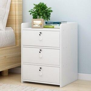 Image 1 - Szafka nocna, proste nowoczesne przechowywania ramki, szafka nocna, szafka nocna, mały stolik i małych otrzymaniu szafka