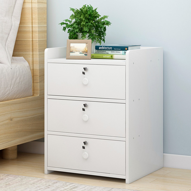 Szafka nocna, proste nowoczesne przechowywania ramki, szafka nocna, szafka nocna, mały stolik i małych otrzymaniu szafka