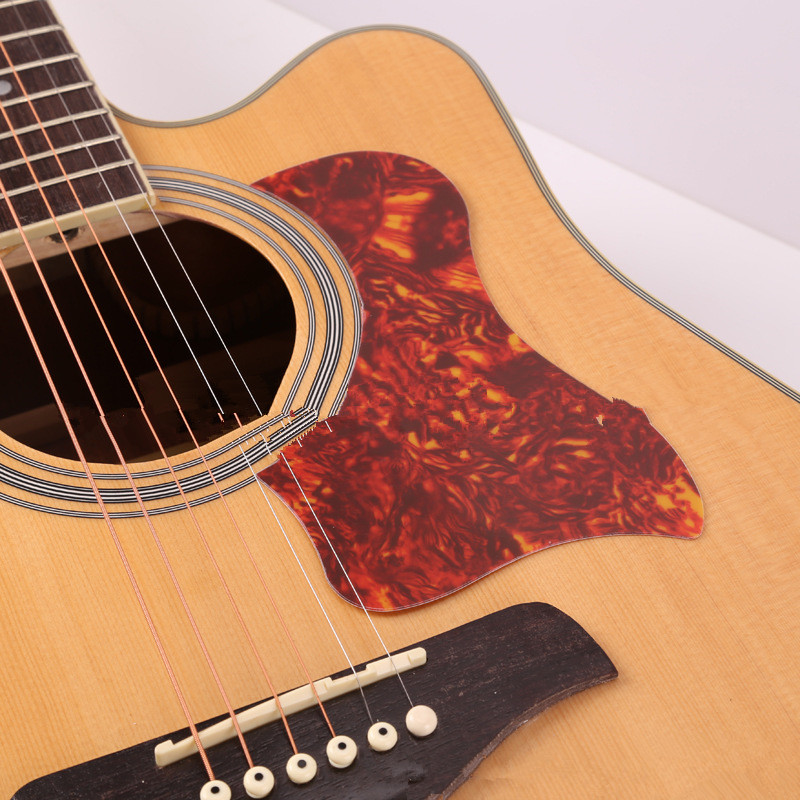 1PC Professional Folk Acoustic Guitar Pickguard Top Quality Self-adhesive Pick Guard Sticker For Acoustic Guitar Accessories