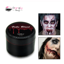 PANSLY Fake Blood Makeup Face Body Paint Halloween Fake Wounds Scars Bruises Simulation Of Human Vampire Cosplay Make Up Pigment