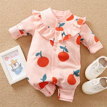 Malapina bebê recém-nascido roupas da menina primavera outono manga longa uma peça macacão ins bonito outfits infantil da criança roupas de algodão