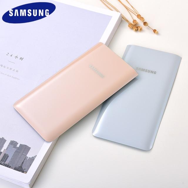 מקורי Samsung A80 סוללה כיסוי אחורי דיור זכוכית דלת אחורי החלפת מקרה עבור גלקסי A80 A 80 A805 SM A8050 תיקון חלקי
