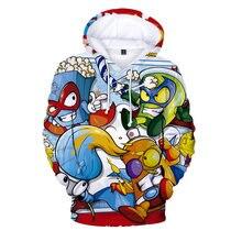 Super zings hoodie boys girls 3d printed pullovers superzings