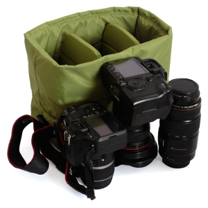 Image 5 - RISE Waterproof Insert Padded Partition Camera Bag Lens Case For Dslr Slr Camera
