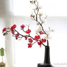 5 шт./лот 60 см свадебные фальшивые цветы сливы Искусственные цветы вишни для украшения дома