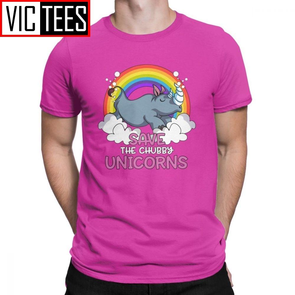 Rhino Save The Chubby Unicorns Funny Rainbow Shirt Save The Chubby Unicorns Rhino Unicorn Lover Gift