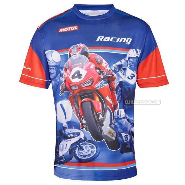 รถจักรยานยนต์ Motocross Racing MOTO GP MX off-road BIKE สำหรับ Honda Race Blue JERSEY