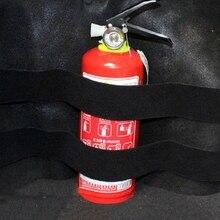2 PCS Fire Extinguisher Car Holder Universal Strap Down Design Organizer X3UF