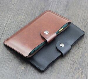 Dla Huawei Mate Xs ciesz się 20 Pro ciesz się Z Honor X10 Max pokrowiec ochronny skórzany pokrowiec torba liniowa ultra-cienka torba na telefon