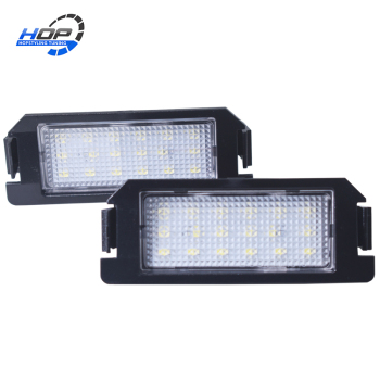 2Pcs Super bright No Error LED License Plate Number Light For Hyundai Coupe Tiburon I10 I20 XG 30 Genesis Veloster Kia Rio