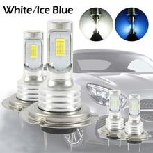 H7 LED Headlight Bulbs Kit High Low Beam 35W 4000LM Super Bright 6000K White