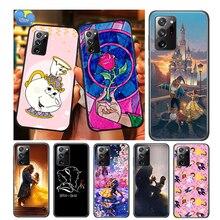 ความงามและ Beast สำหรับ Samsung Galaxy A01 A11 A12 A22 A21S A31 A41 A42 A51 A71 A32 A52 A72 a02S Soft Case